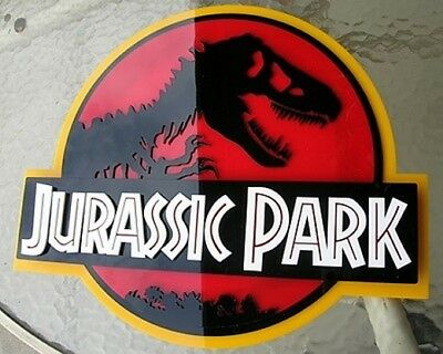 JURASSIC PARK 3D ART sign new  Fossil Dinosaur clean version movie  Dino 12 inch 3
