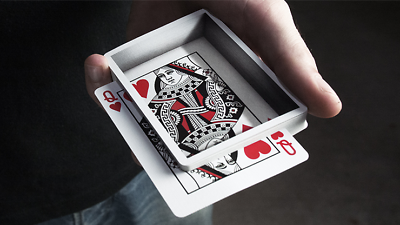 Optricks Red Animated Playing Cards Poker Size Deck USPCC Custom Limited Sealed 2