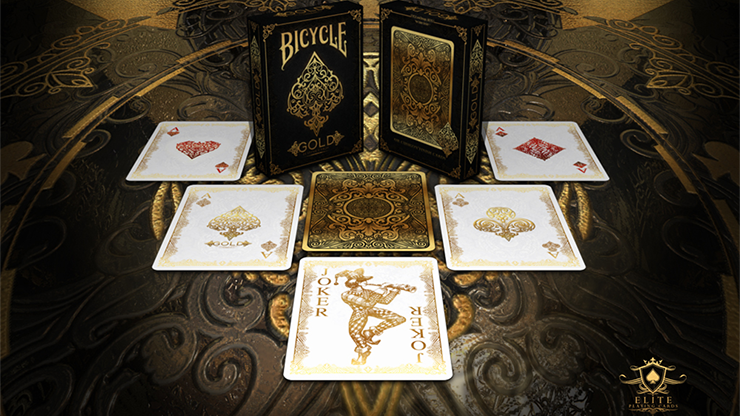 Bicycle Gold Deck by US Playing Cards 5