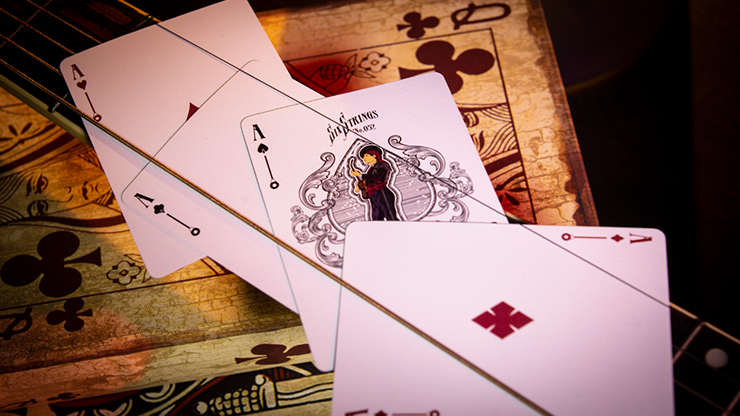 Limited Edition Six Strings Playing Cards - LIMITED 6