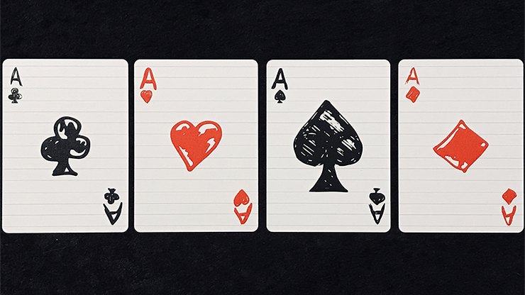 Limited Edition Composition Deck Playing Cards - LIMITED 6