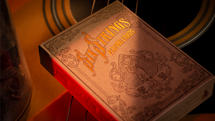 Limited Edition Six Strings Playing Cards - LIMITED 2