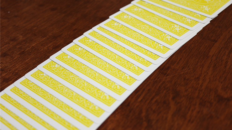 Bicycle Yellow Playing Cards by US Playing Cards 6