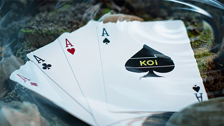 Koi V2 Playing Cards by Byron Lueng 5