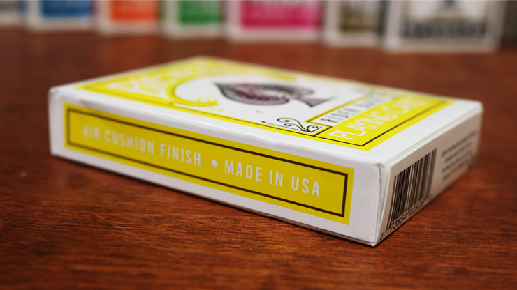 Bicycle Yellow Playing Cards by US Playing Cards 7