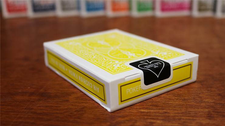 Bicycle Yellow Playing Cards by US Playing Cards 3