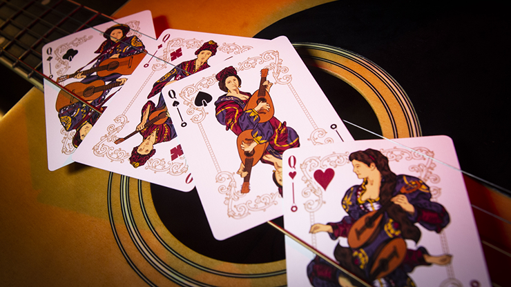 Limited Edition Six Strings Playing Cards - LIMITED 7