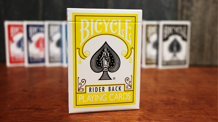 Bicycle Yellow Playing Cards by US Playing Cards 2