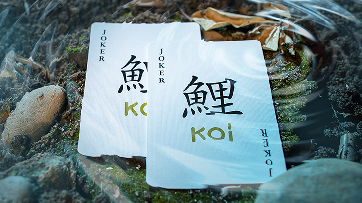Koi V2 Playing Cards by Byron Lueng 4