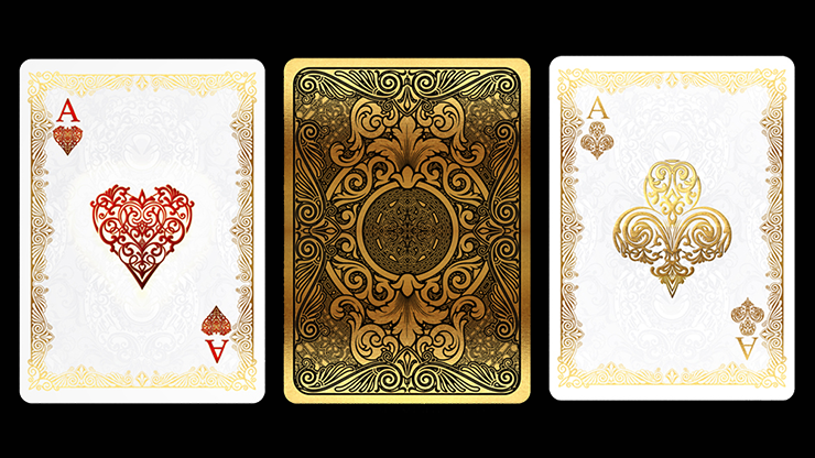 Bicycle Gold Deck by US Playing Cards 2