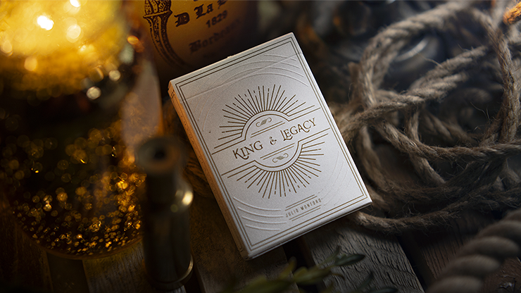 King and Legacy: Gold Edition Marked Playing Cards 2