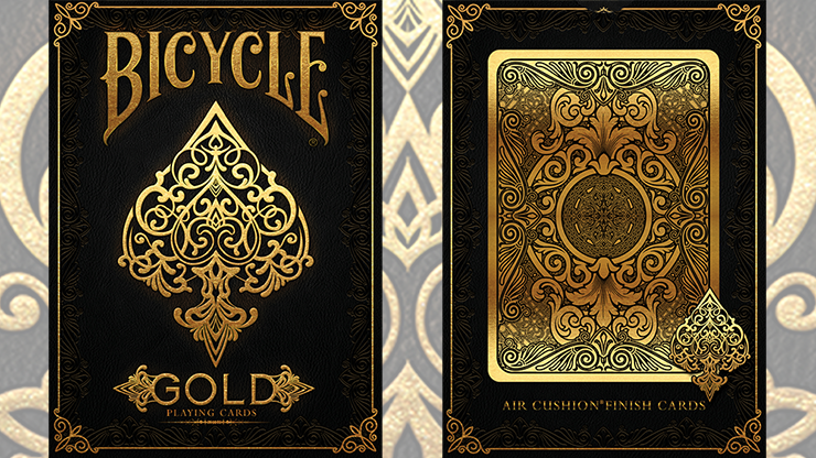 Bicycle Gold Deck by US Playing Cards 6