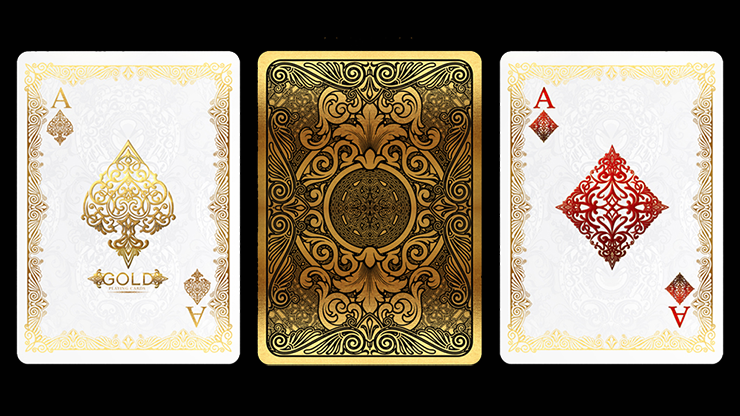 Bicycle Gold Deck by US Playing Cards 7