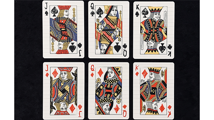 Limited Edition Composition Deck Playing Cards - LIMITED 7