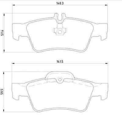 4 Bremsscheiben + Beläge Vorne Hinten + Handbremse Mercedes E-Klasse W211 S211