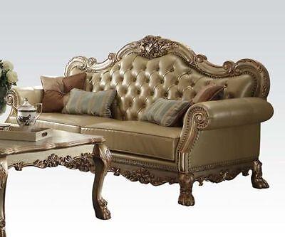 Strange Traditional Formal Decorative Dresden 3Pc Sofa Set Antique Machost Co Dining Chair Design Ideas Machostcouk