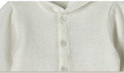 New Girls Boys Off White Cashmere Sweater Hoodie Cardigan Leggins Pants Set NIP