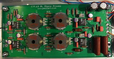 DIY PCB - Solid-state LR phono preamp