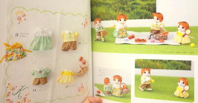 Sylvanian Families PIA FAN BOOK Handmade Japan Calico Critters