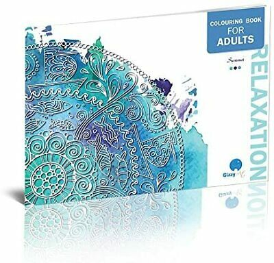 Adult Colouring Books Set of 3 with 36 Unique Relaxing Illustrations&Mandalas 4