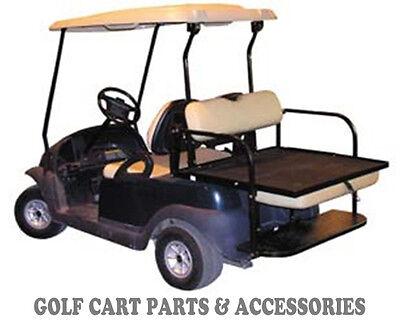 1 Of 3FREE Shipping Club Car Precedent Golf Cart Rear Flip Seat Kit 2004 UP BUFF