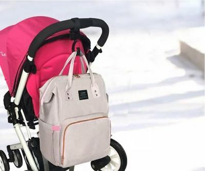 GENUINE LAND Large Multifunctional Baby Diaper Nappy Backpack Mummy Changing Bag