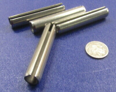 """420 Stainless Steel, Slotted Roll Spring Pin, 1/2"""" Dia x 2 1/2"""" Length, 4 pcs 7"""