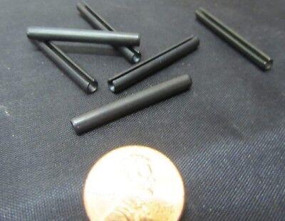 Metric Steel Slotted Spring Pin, M3.5 Dia x 32 mm Length, 200 pcs 8