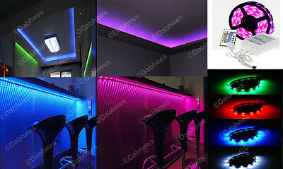 High Quality Waterproof Rgb Led Aquarium Colour Changing Led Strip Lighting Set 3