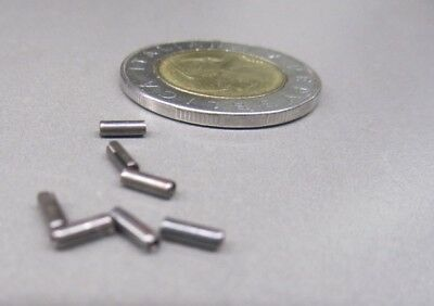 """Steel, Slotted Roll Spring Pin, 1/16"""" Dia x 3/16"""" Length, 500 pcs 3"""
