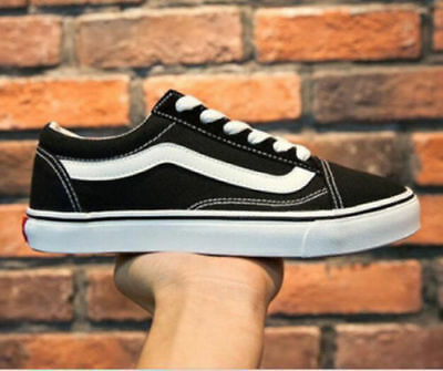 VAN Classic OLD SKOOL Low / High Top sneakers camoscio tela Casual scarpe uomo 9
