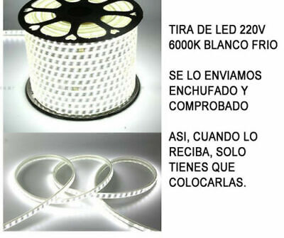 TIRA DE LED MANGUERA LUZ 220V INTERIOR IP65 ALTA ILUMINACION (120 Luces/Metro) 11