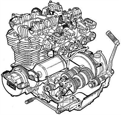 Workshop Guide Kawasaki Z1 Z1a Z1b Kz900 Kz1000 Kz1000r Tuning