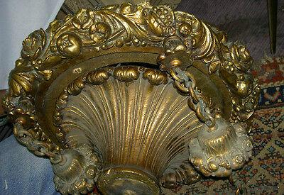 Antique Cast 50 Lb Baroque Style Deco Era Chandelier_ Price Reduced 65% Bargain! 9