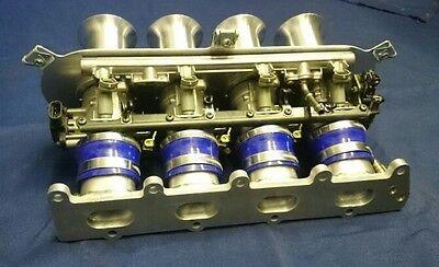 RENAULT CLIO SPORT F4R Bike Throttle Bodies Kit ZX12R 46mm danST STARTER  PACK