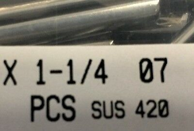 """420 Stainless Steel, Slotted Roll Spring Pin, 1/4"""" Dia x 1 1/4"""" Length, 200 pcs 6"""