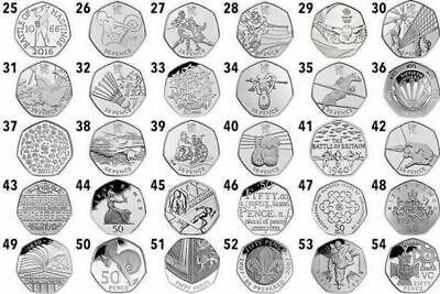 Cheap Collectable 50P Coins All Your 50 Pence Coins Olympics-Kew-Beatrix & More 3