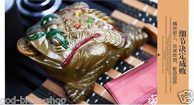 Chinese kung fu tea set purple clay tea pot gaiwan mini cup solid wood tea tray 8