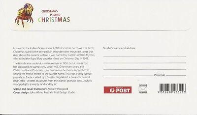 2012 Christmas Island - Christmas FDC FDI