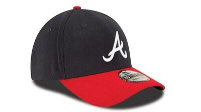 c648dd166ee ... 2 of 7 Atlanta Braves New Era MLB 39THIRTY Team Classic Stretch Fit  Flex Cap Hat 3930 3