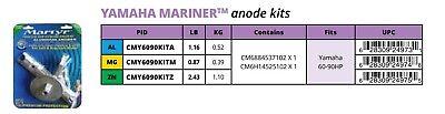 New Martyr Yamaha 60-90HP Outboard Aluminum Anode Kit CMY6090KITA