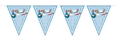 15 tlg Deko Set Geburt Junge Taufe Baby PullerParty Dekoration FreudigesEreignis