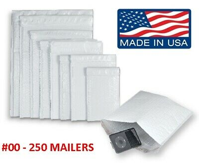 Wholesale Poly Bubble Mailers Padded Envelopes #0 #1 #2 #3 #4 #5 #6 #7 #00 #000 4
