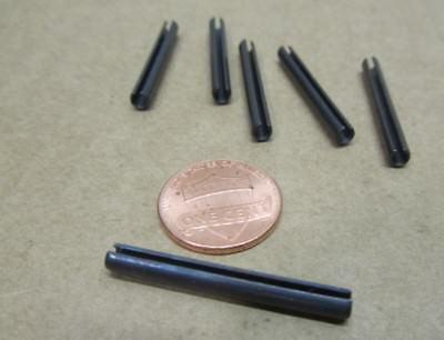 Metric Steel Slotted Spring Pin, M3.5 Dia x 32 mm Length, 200 pcs 4