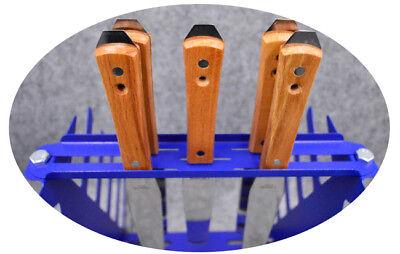 Desktop Siebdruck Squeegee Rack Spachtel Halter Veranstalter Regale Werkzeug 7