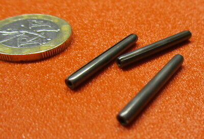 """420 Stainless Steel Coiled Spring Pin, 7/64"""" Dia x 1.00"""" Length, 20 pcs 5"""