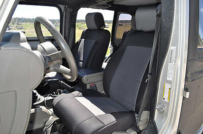 Wondrous 2007 2012 Jeep Wrangler 2 Door Neoprene Front Rear Seat Gamerscity Chair Design For Home Gamerscityorg