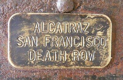 Prison Alcatraz San Francisco Death Row iron Lock #1100ADR 4