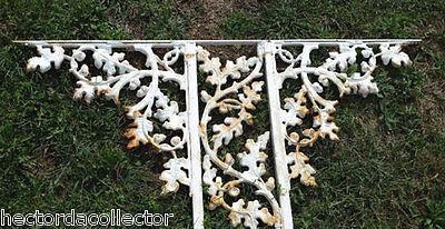 SALE Antique Cast Iron Porch Post Corbells Acorn Oak Leave Architectural Salvage 6