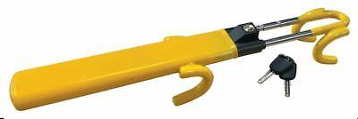 Heavy Duty Steering Wheel Lock High Security Anti Theft Twin Bar Hook for BMW 6